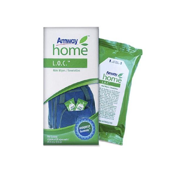 Amway™ Home L.O.C. Mini Wipes / Towelettes